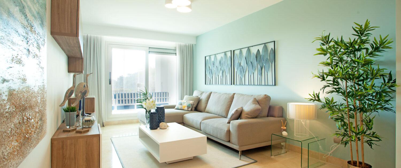salón de apartamente en Elviria
