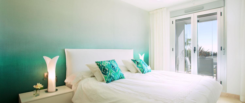dormitorio en apartamento Marbella alquiler vacacional