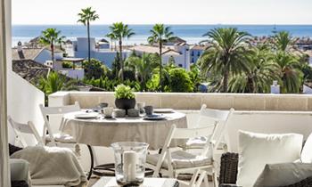 vistas al mar marbella