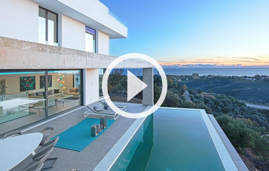 video de villa en  los monteros marbella